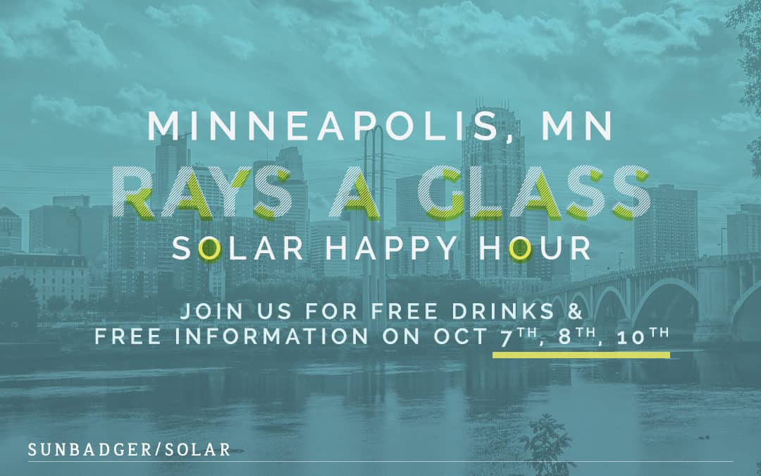 Rays a Glass Solar Happy Hours in Minnesota
