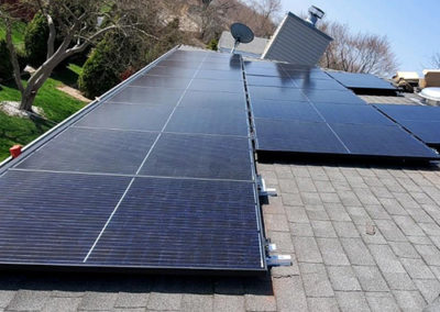 Solar on a midwest home.