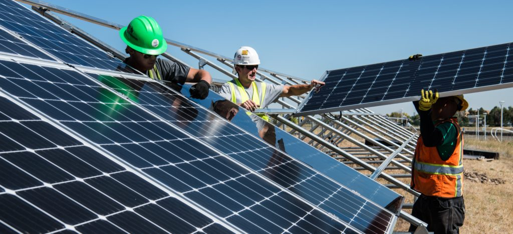 solar panel installation. The best solar installers