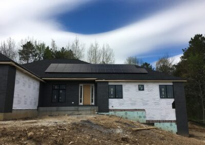 Solar on a new home, solar financing options.